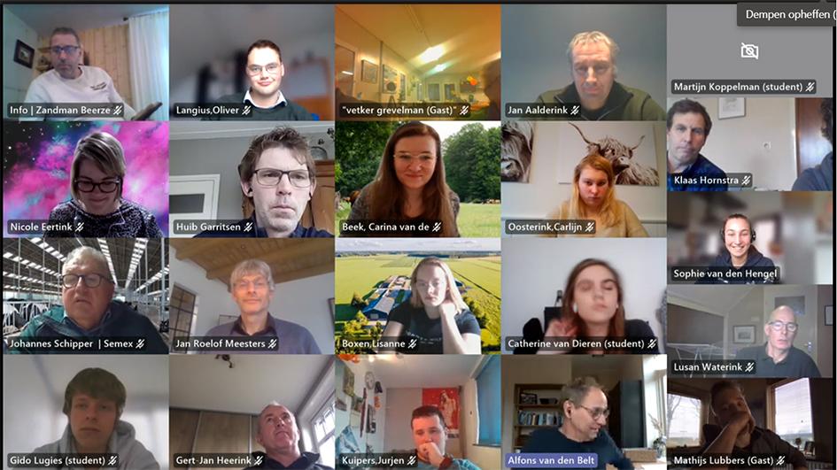MBO en HBO studenten aan de slag met Vruchtbare Kringloop-praktijkvragen